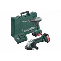 Набор аккум. METABO Combo Set 2.4.3 18 V BS18+W18 (685082000)